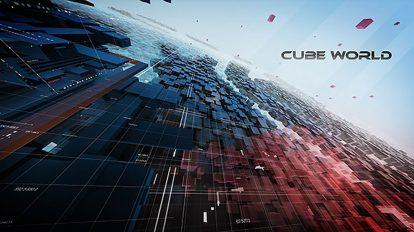 پروژه افترافکت افتتاحیه CubeWorld
