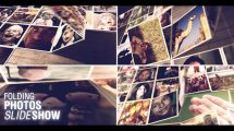 پروژه افترافکت اسلایدشو تصاویر تاشو Folding Photos