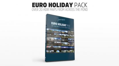 مجموعه تصاویر HDRI تعطیلات اروپایی European Holiday