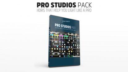 مجموعه تصاویر HDRI استودیویی حرفه ای Pro Studios