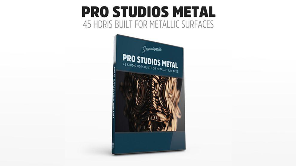مجموعه تصاویر HDRI استودیویی فلزی Pro Studios Metal