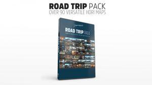 مجموعه تصاویر HDRI سفر جاده ای Road Trip