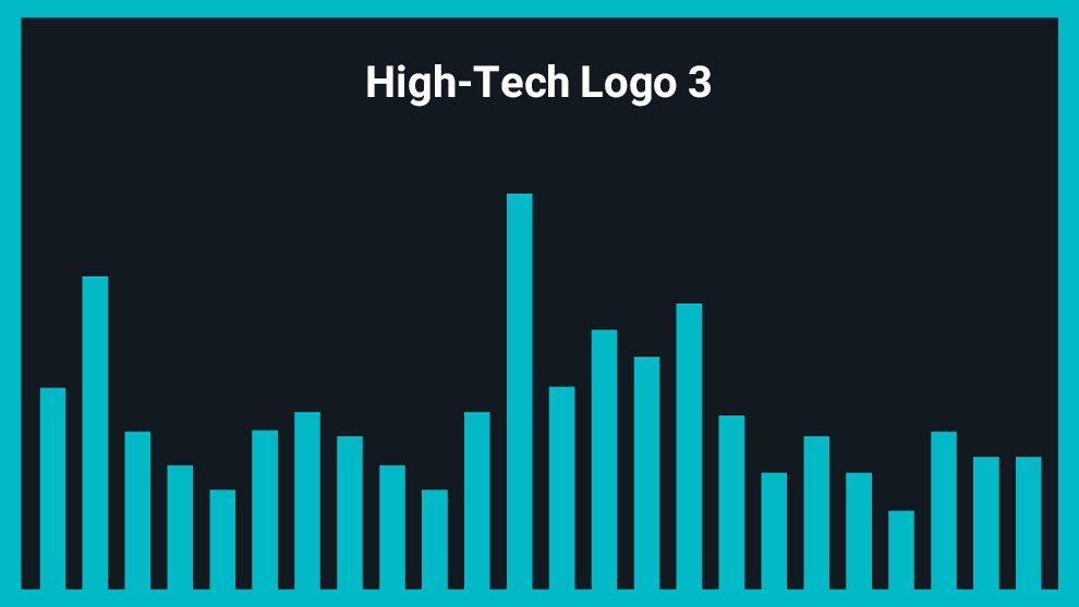 موزیک زمینه لوگو High-Tech Logo 3
