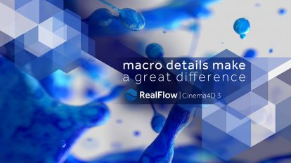 پلاگین سینما فوردی NextLimit RealFlow ابزار شبیه سازی سیالات
