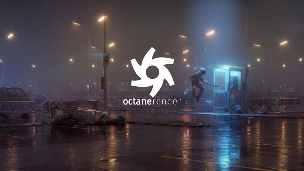 پلاگین سینما فوردی اکتان رندر Octane Render