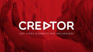 مجموعه ویدیوی موشن گرافیک المان ویدیویی Creator