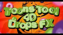 پروژه سینما فوردی افکت های کارتونی Toons Tool 4D