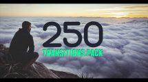 پروژه افترافکت مجموعه 250 ترانزیشن ویدیویی