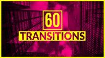 پروژه افترافکت 60 ترانزیشن ویدیویی