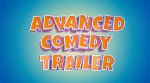پروژه افترافکت نمایش عناوین متنی تریلر Advanced Comedy Trailer