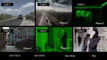 پروژه افترافکت ساخت افکت دوربین مدار بسته CCTV