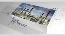 پروژه افترافکت اسلایدشو شرکتی Clean Corporate Slideshow