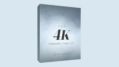 مجموعه فوتیج ویدیویی مه و دود Lens Distortions Fog 4K