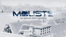 مجموعه 100 فوتیج ویدیویی گرد و غبار mDusts