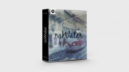 مجموعه 75 فوتیج ویدیویی آب و باران mWater
