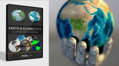 مجموعه مدل سه بعدی کره زمین برای سینما فوردی