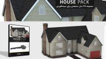 مجموعه مدل سه بعدی خانه برای سینما فوردی