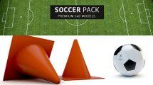 مجموعه مدل سه بعدی فوتبال برای سینما فوردی