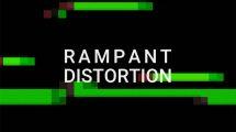 مجموعه فوتیج قطعی و اعوجاج تصویر Rampant Distortion