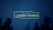 پروژه افترافکت مجموعه 24 نوار عنوان 4K Lower Thirds