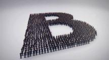 پروژه افترافکت نمایش لوگو با ازدحام جمعیت Shape Formation