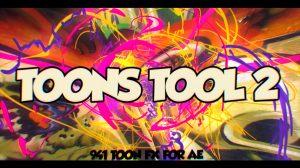 پروژه افترافکت مجموعه افکت کارتونی Toons Tool 2