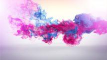 پروژه افترافکت نمایش لوگو با دود دنبالهدار Trailing Particles