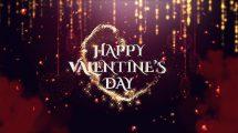 پروژه افترافکت ولنتاین Valentine