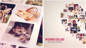 پروژه افترافکت کولاژ تصاویر عروسی