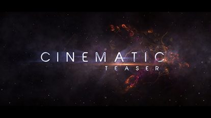 پروژه افترافکت نمایش عناوین سینمایی Cinematic Teaser