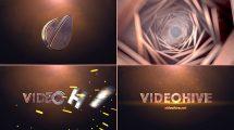 پروژه افترافکت نمایش لوگو در تونل سینمایی