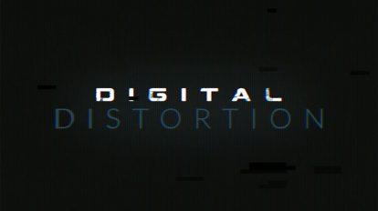 پروژه افترافکت ایجاد افکت قطعی دیجیتال Digital Distortion