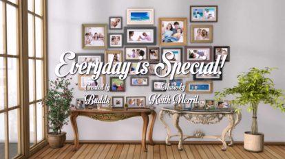 پروژه افترافکت افتتاحیه Everyday is Special