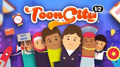 پروژه افترافکت ساخت تیزر تبلیغاتی ToonCity v2