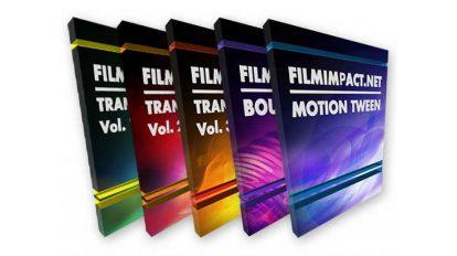پلاگین پریمیر پرو مجموعه ترانزیشن FilmImpact