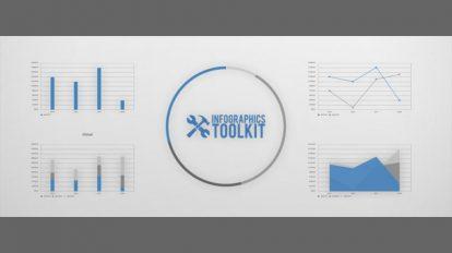 اسکریپت افترافکت ساخت اینفوگرافیک Infographics Toolkit