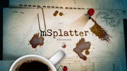 مجموعه 100 فوتیج ویدیویی پاشیدن mSplatter