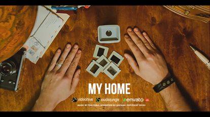 پروژه افترافکت اسلایدشو خاطرات خانه من