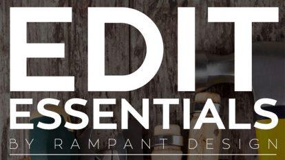 مجموعه فوتیج ویدیویی ضروریات تدوین ویدیو Rampant Edit Essentials