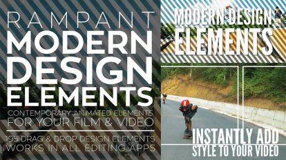 مجموعه موشن گرافیک المان طراحی Rampant