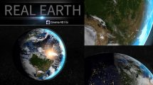 مدل سه بعدی واقعگرایانه زمین برای سینما فوردی