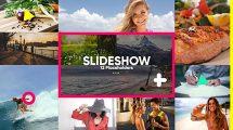 پروژه افترافکت اسلایدشو رنگی Slideshow Color