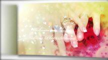 پروژه افترافکت اسلایدشو آلبوم عکس عروسی