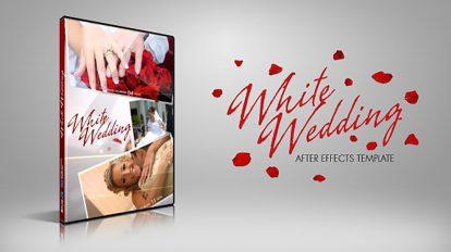 پروژه افترافکت عروسی سفید