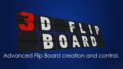 اسکریپت افترافکت ساخت برد برگردان سه بعدی 3D Flip Board