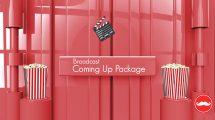 پروژه افترافکت اعلام برنامه Broadcast Coming Up Next Package