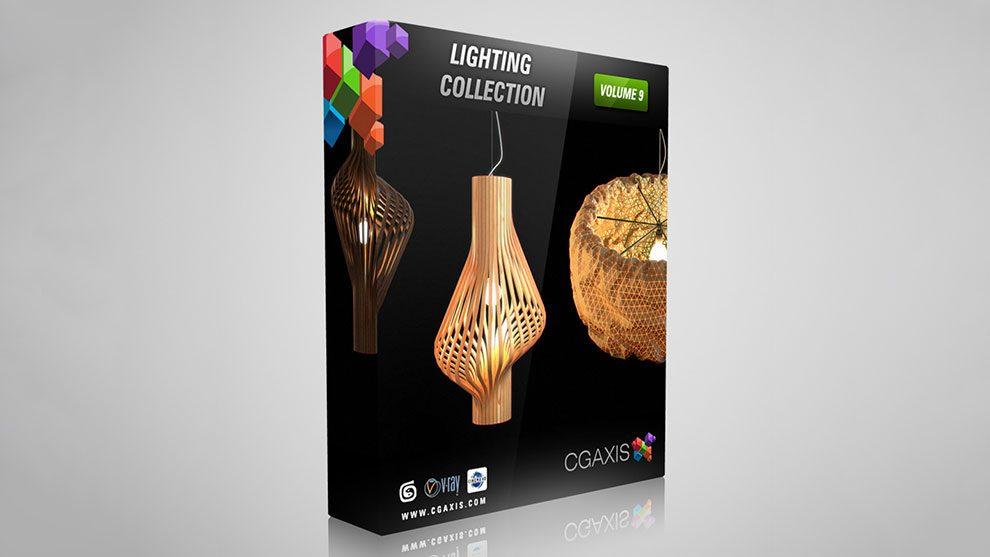 مجموعه مدل سه بعدی چراغ CGAxis Models Volume 9 Lighting Collection