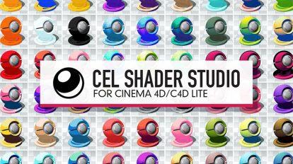 مجموعه 900 متریال برای سینما فوردی Cel Shader Studio