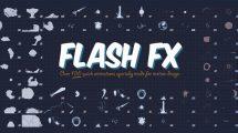 مجموعه ویدیوی موشن گرافیک افکت کارتونی Flash FX Animation Pack