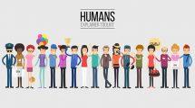پروژه افترافکت مجموعه ابزار موشن گرافیک Human Explainer Toolkit